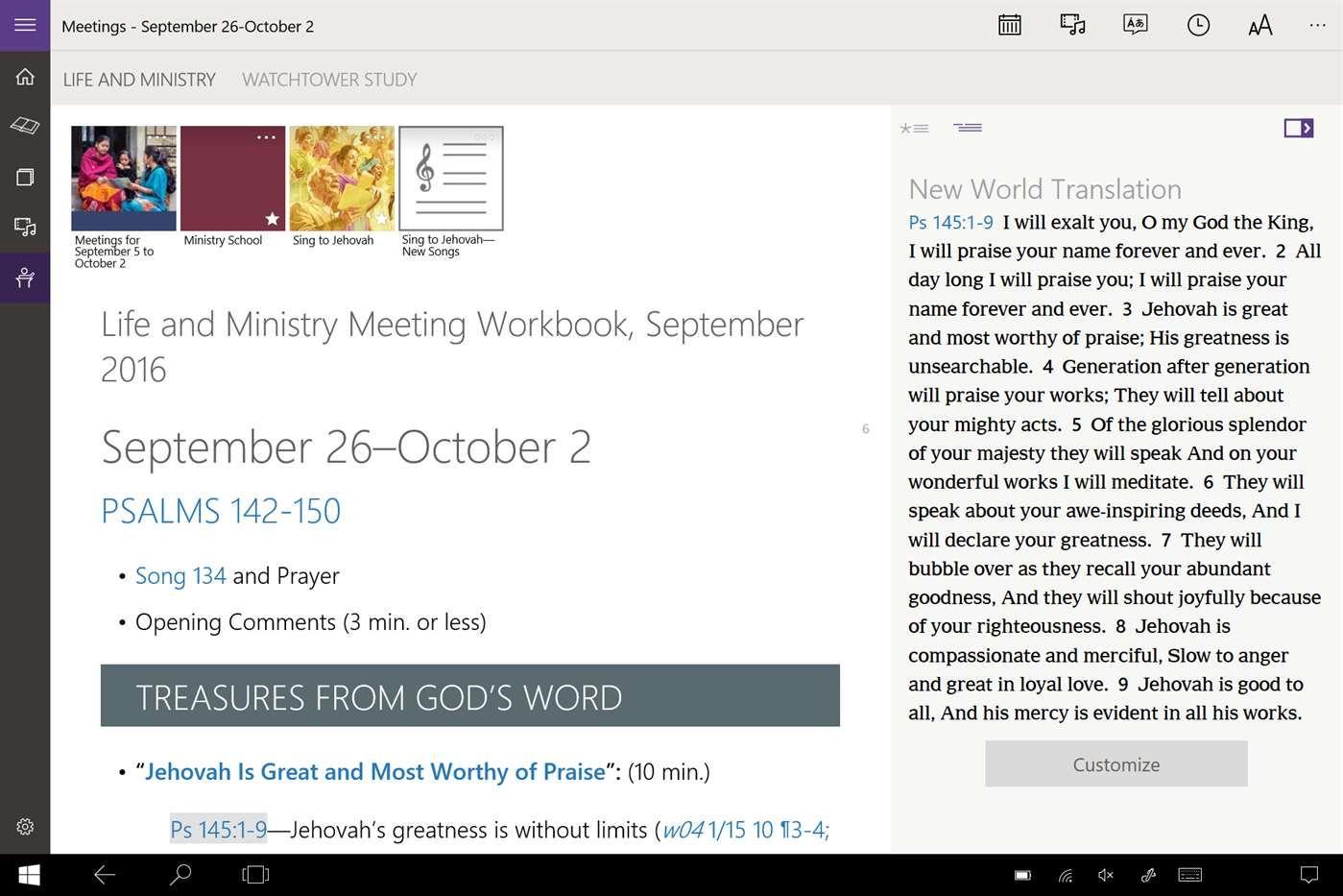 JW Library – Windows Apps on Microsoft Store | LUSAKA | Jw