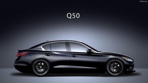 2017 Infiniti Q50 Hybrid Exterior