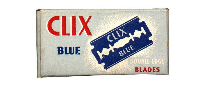 Subtle patriotism. Vintage Packaging: RazorBlades - The Dieline -