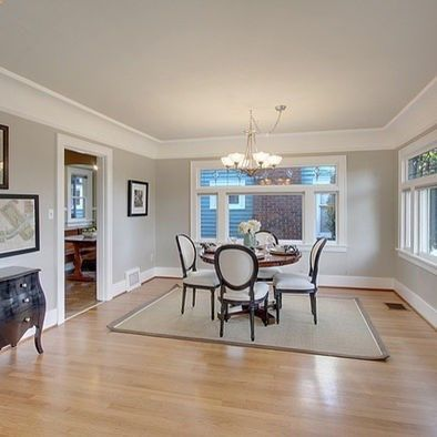 edgecomb gray ceiling, revere pewter walls Paint Colors Pinterest