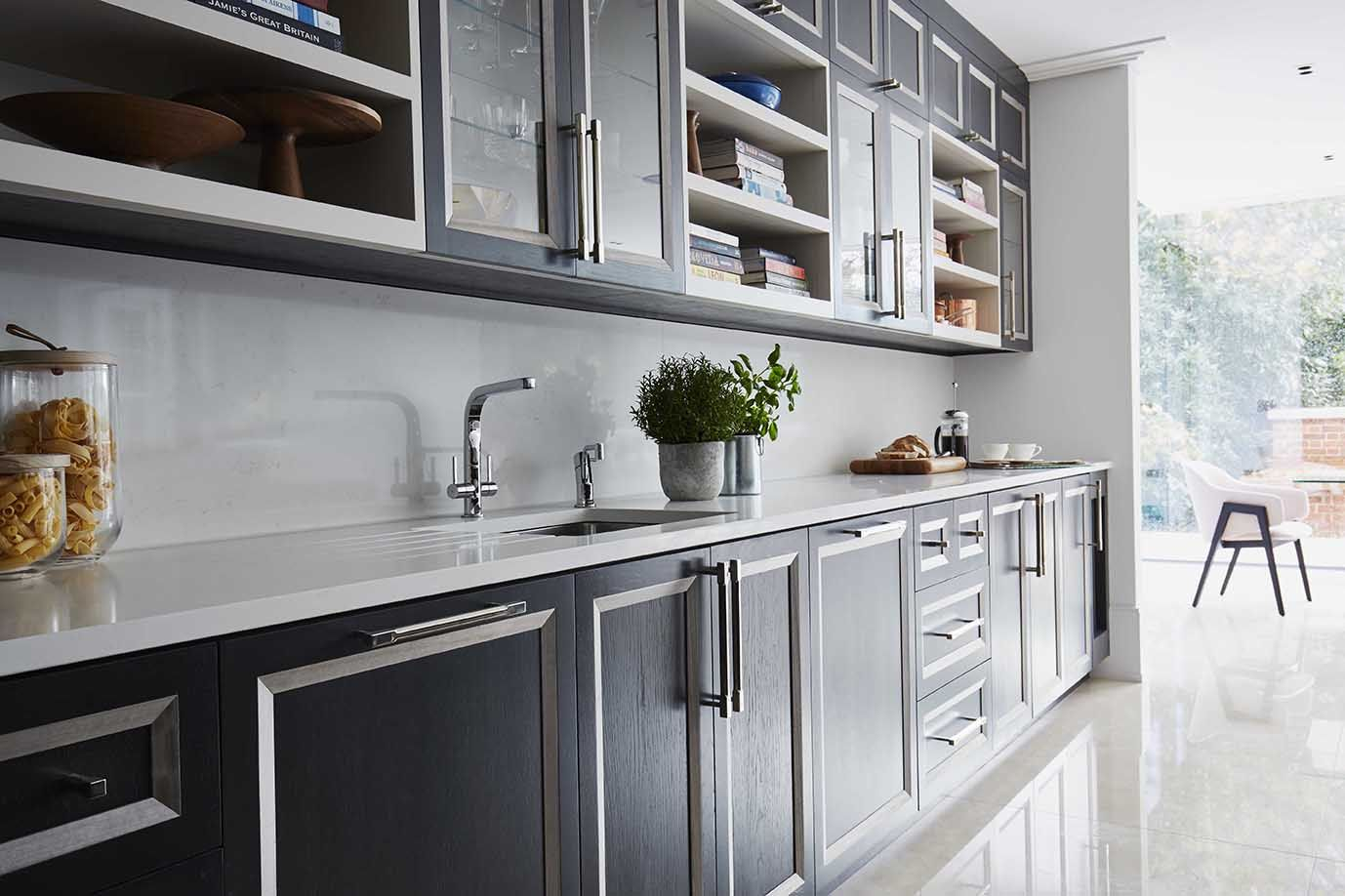 Charmant Richmond Kitchen | Dyed Oak Cabinets | #Kitchens #oakkitchen #dyedoak  #contemporarykitchen