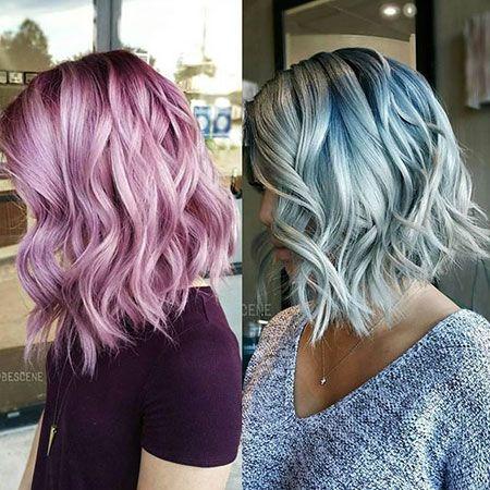 Trend frisur und farbe