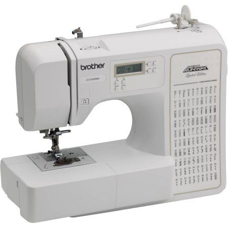 Brother Computerized 40Stitch Project Runway Sewing Machine Mesmerizing First Sewing Machine Project