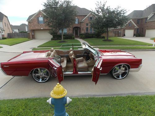 Sell used 1967 Lincoln continental convertible suicide doors in Houston Texas United States & Sell used 1967 Lincoln continental convertible suicide doors in ...