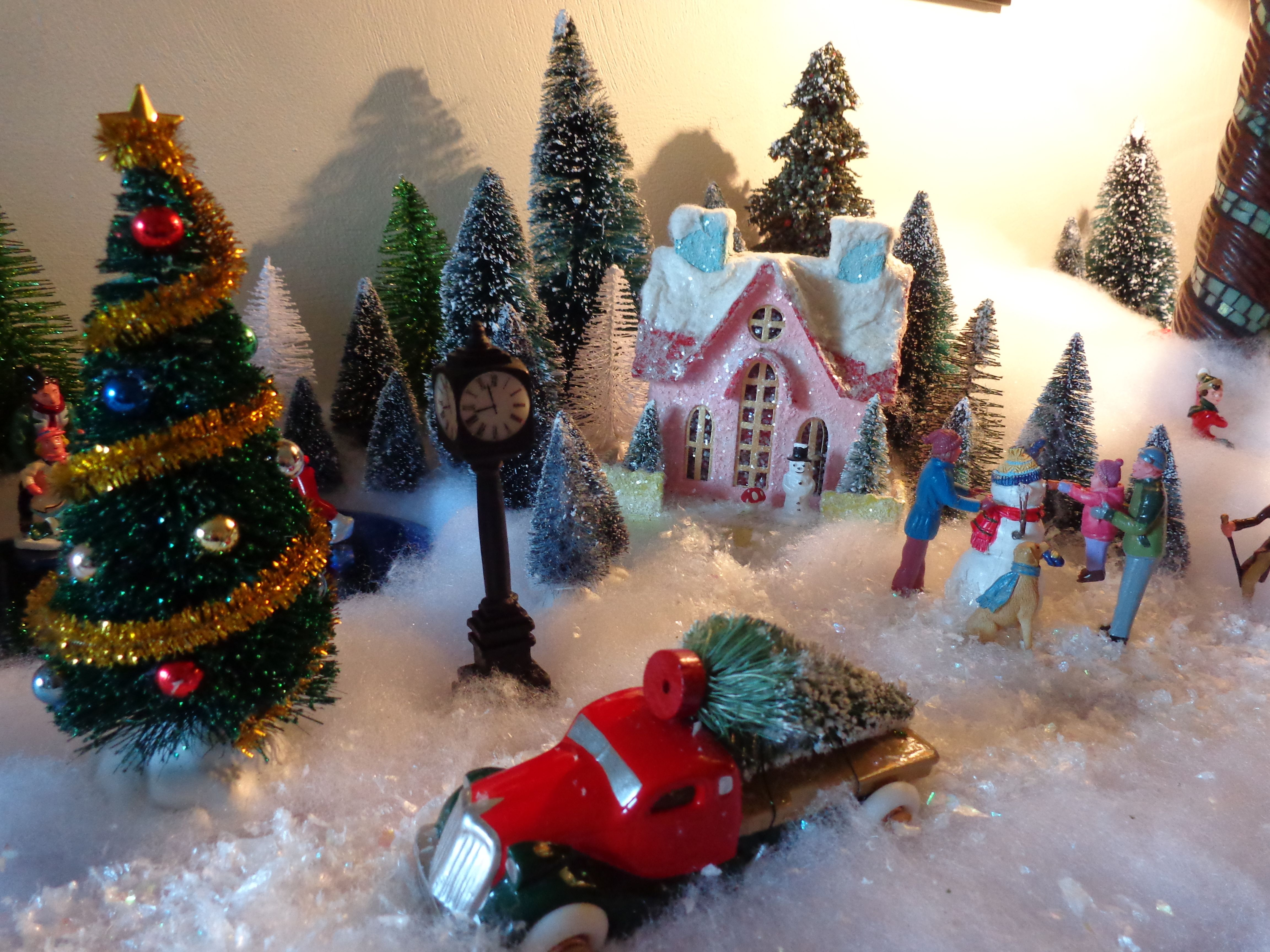 Part of rockingham christmas village for the home christmas