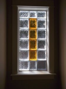 Decorative Glass Block Border Designs For Windows Or Shower Wall Projects Steklobloki Dom