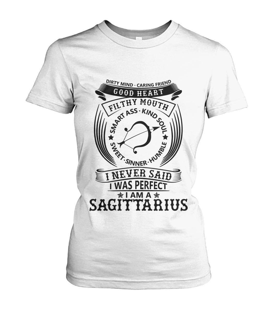 b13023f4 TSHIRT SAGITTARIUS I Never Said I was Perfect I'm a Sagittarius #ladies  #vollecollection #BGM #menstshirts #sneakermatch #ladiestshirt #blackgirl  #black ...