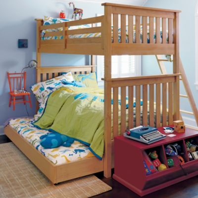 Simple Bunk Natural From Land Of Nod Can Separate To Twins And