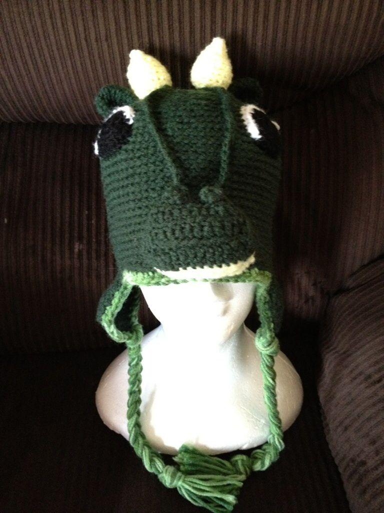 Crochet dragon hat   Crochet   Pinterest   Gorro tejido y Tejido
