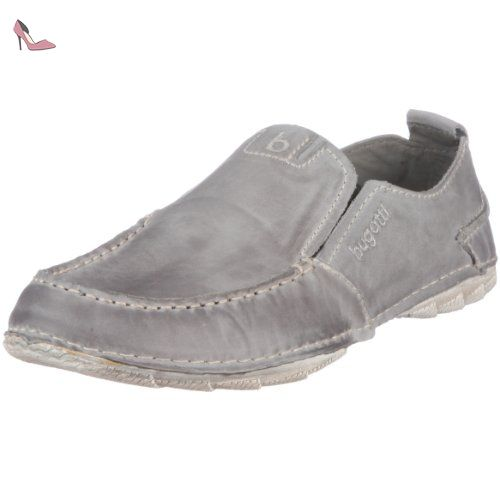Bugatti F3303-PR3 hommes Chaussures cuir, taupe, Taille 44