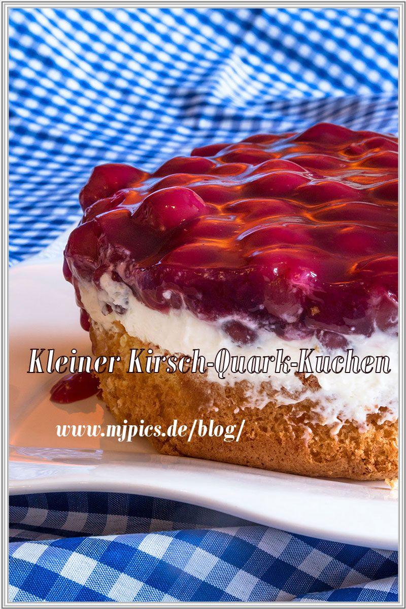 Rezept Fur Einen Erfrischenden Kleinen Kirsch Quark Kuchen Kuchen
