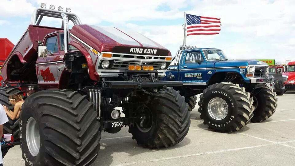 Hot Rod Monster Truck King Kong Big Foot