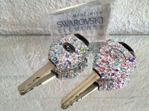 These Toyota and Subaru Car Keys have been embellished with Genuine ...