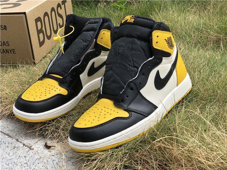 jordan 1 high yellow toe
