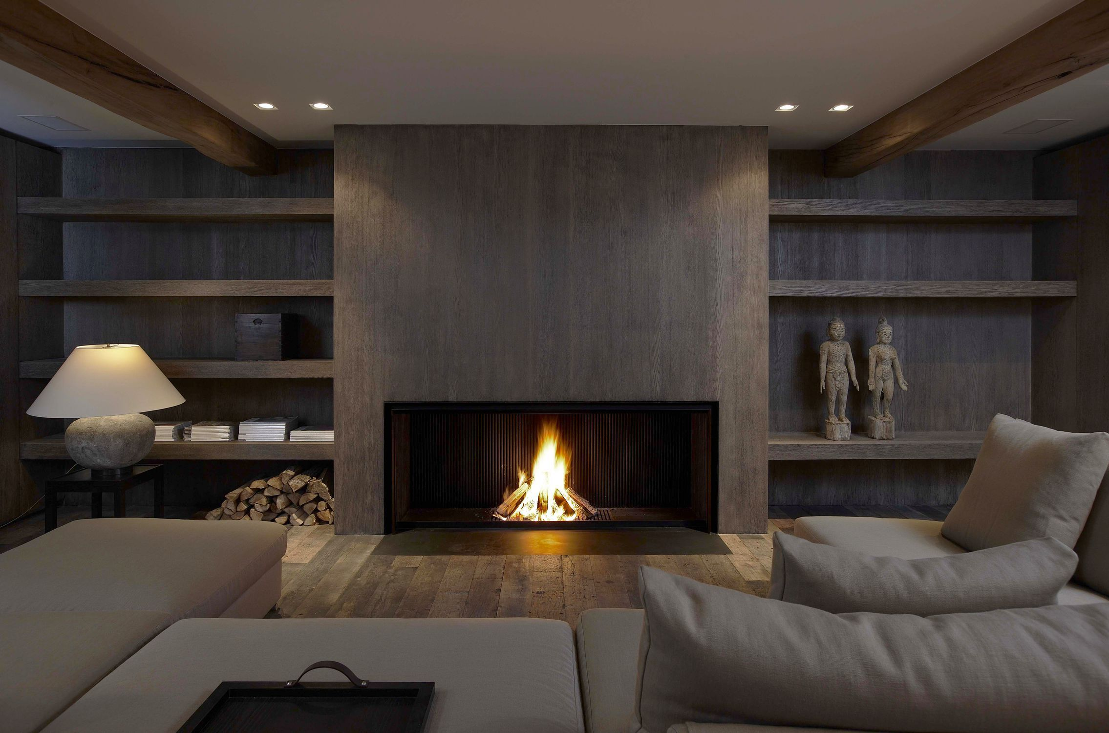 chemin e bois contemporaine design original foyer ouvert universal mf 1700 75 w. Black Bedroom Furniture Sets. Home Design Ideas