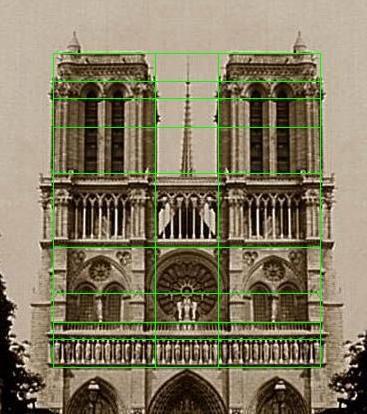 Golden Rectangle In Architecture golden ratio, notre dame | fibonacci in art and design | pinterest