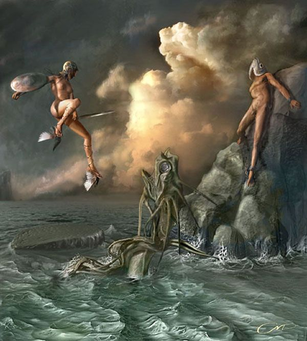 Surreal Fantasy Art | Modern surrealism fantasy art gallery ...