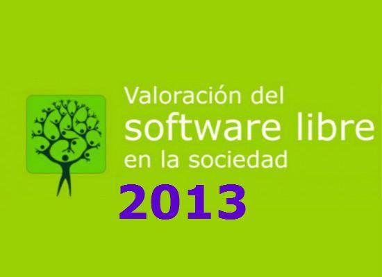 Participa en la encuesta de valoración del Software Libre 2013