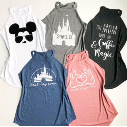 Character Inspired Tanks Only $13.99 (Reg. $30)! Choose From 5 Designs!