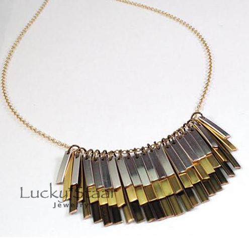 The Farrington Necklace...made using TONS of the new Flat Artistic ...