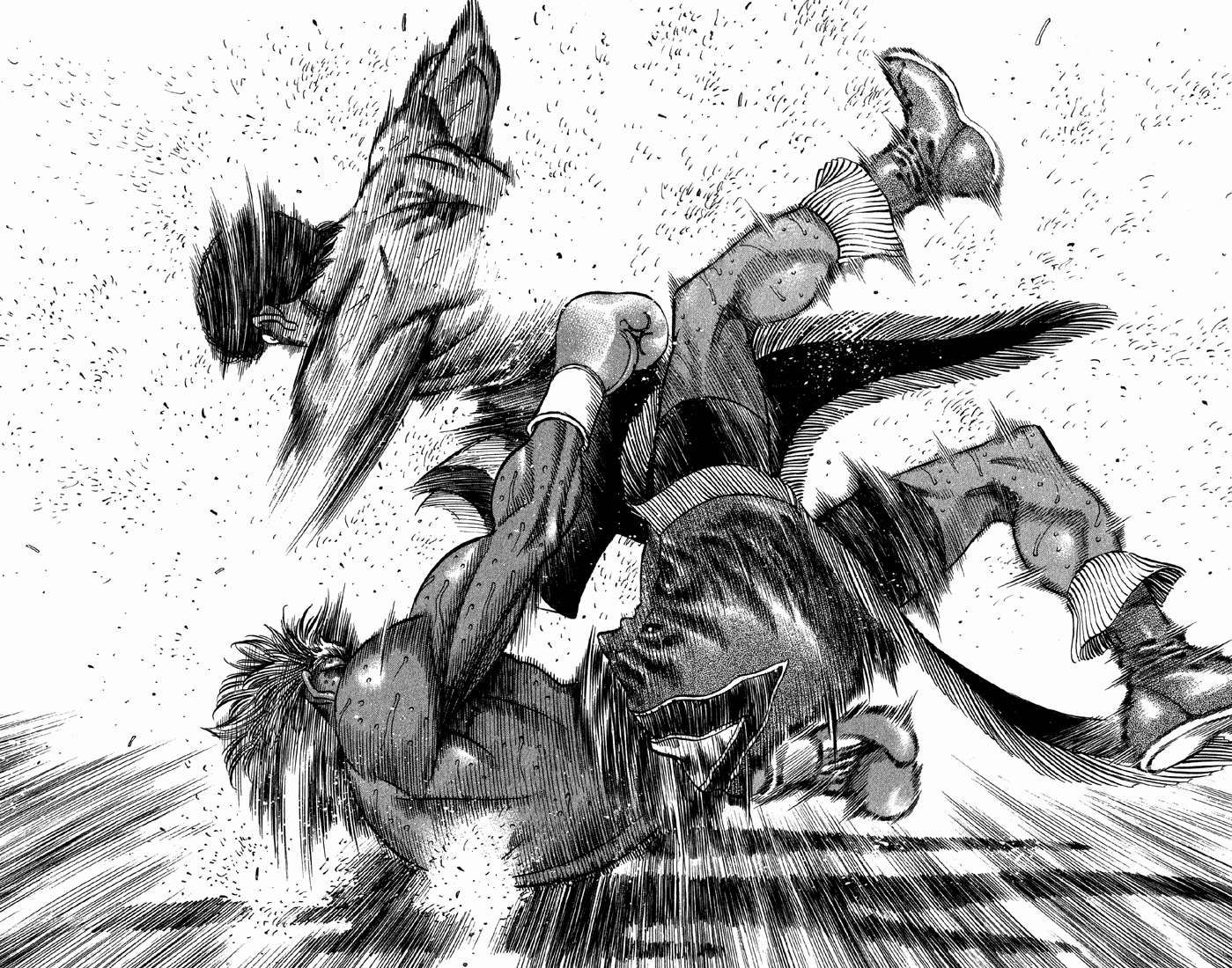 Takamuras Rage Against Hawk Was One If The Best Fights In Manga