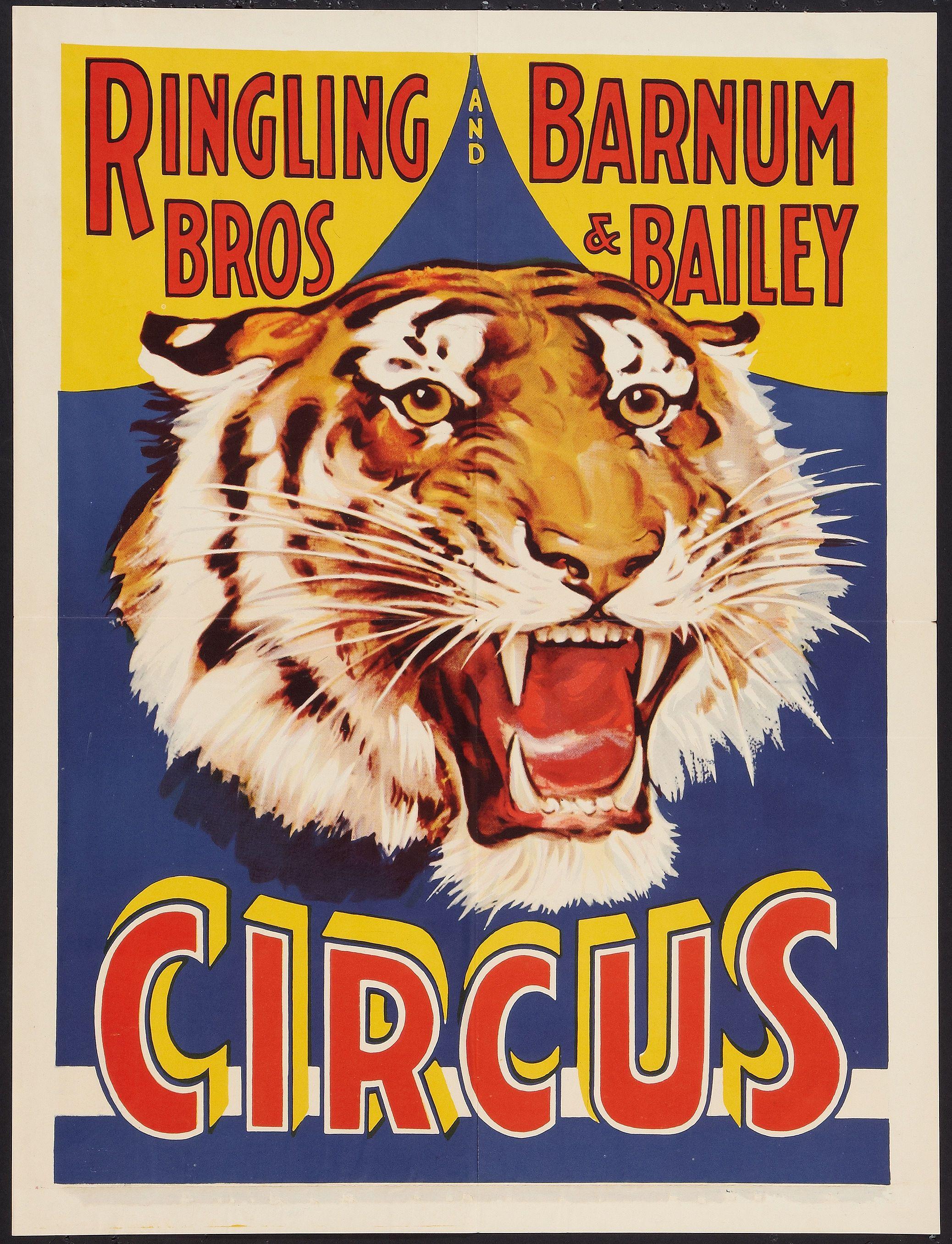 Ringling Bros. & Barnum Bailey Circus Poster
