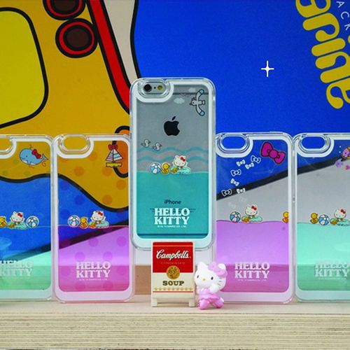Genuine Hello Kitty Water Case Galaxy S6 Case Galaxy S6 Edge Case 5 Types Case #HelloKitty