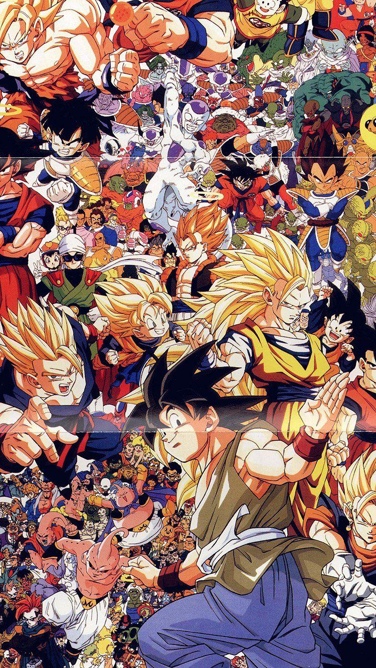 Dragonball Full Art Illust Game Anime Wallpaper Hd Iphone