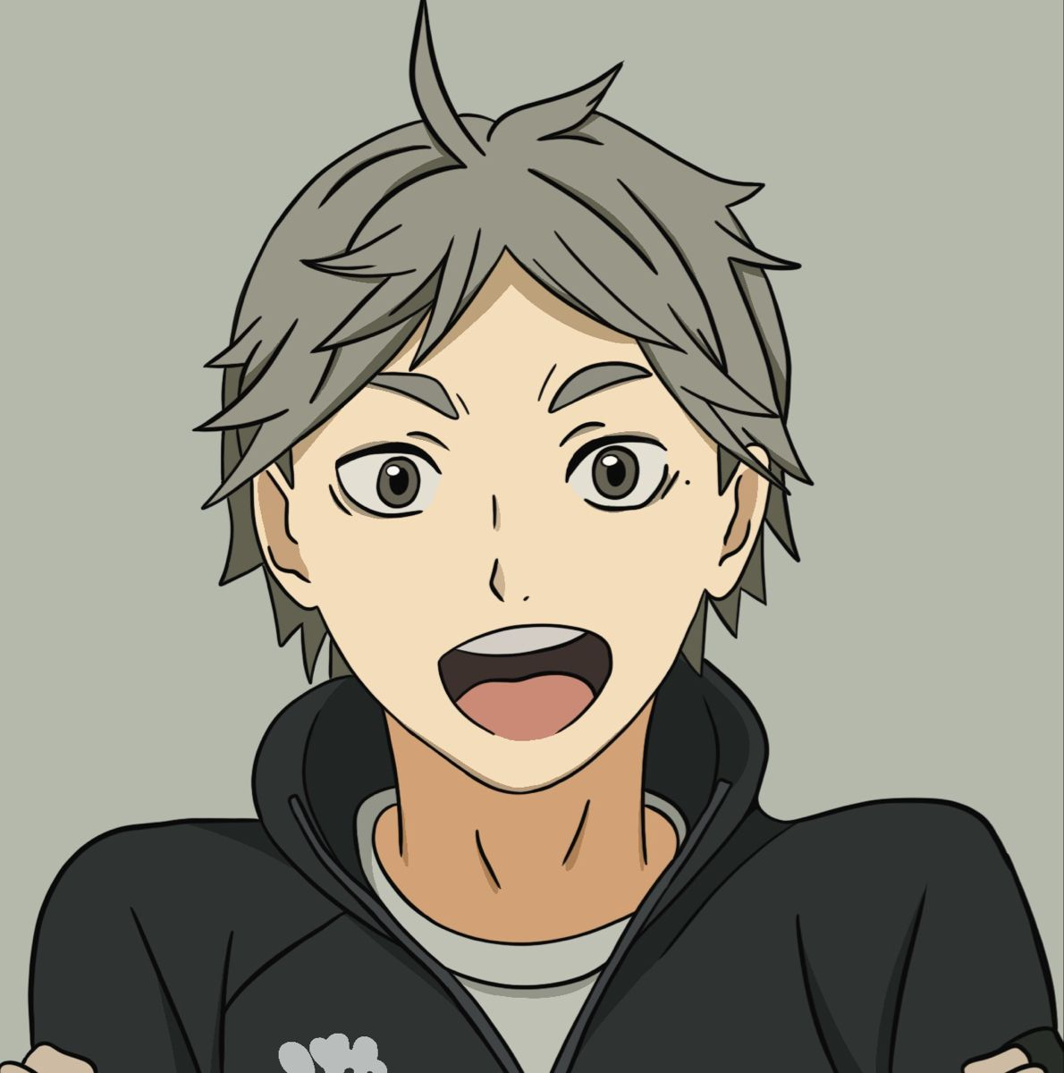 Completed Sugawara Coloring Page 1 Coloring Pages Anime Color