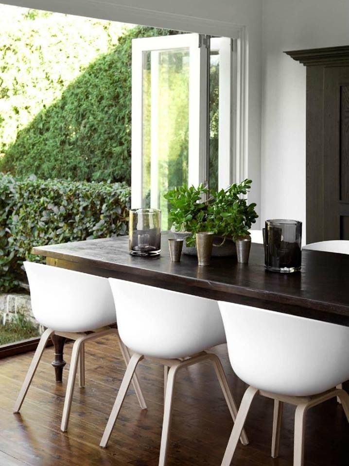 est magazine 10 dining hay chair and room. Black Bedroom Furniture Sets. Home Design Ideas