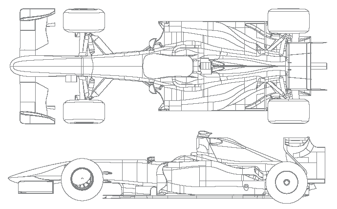 williams fw31 blueprints