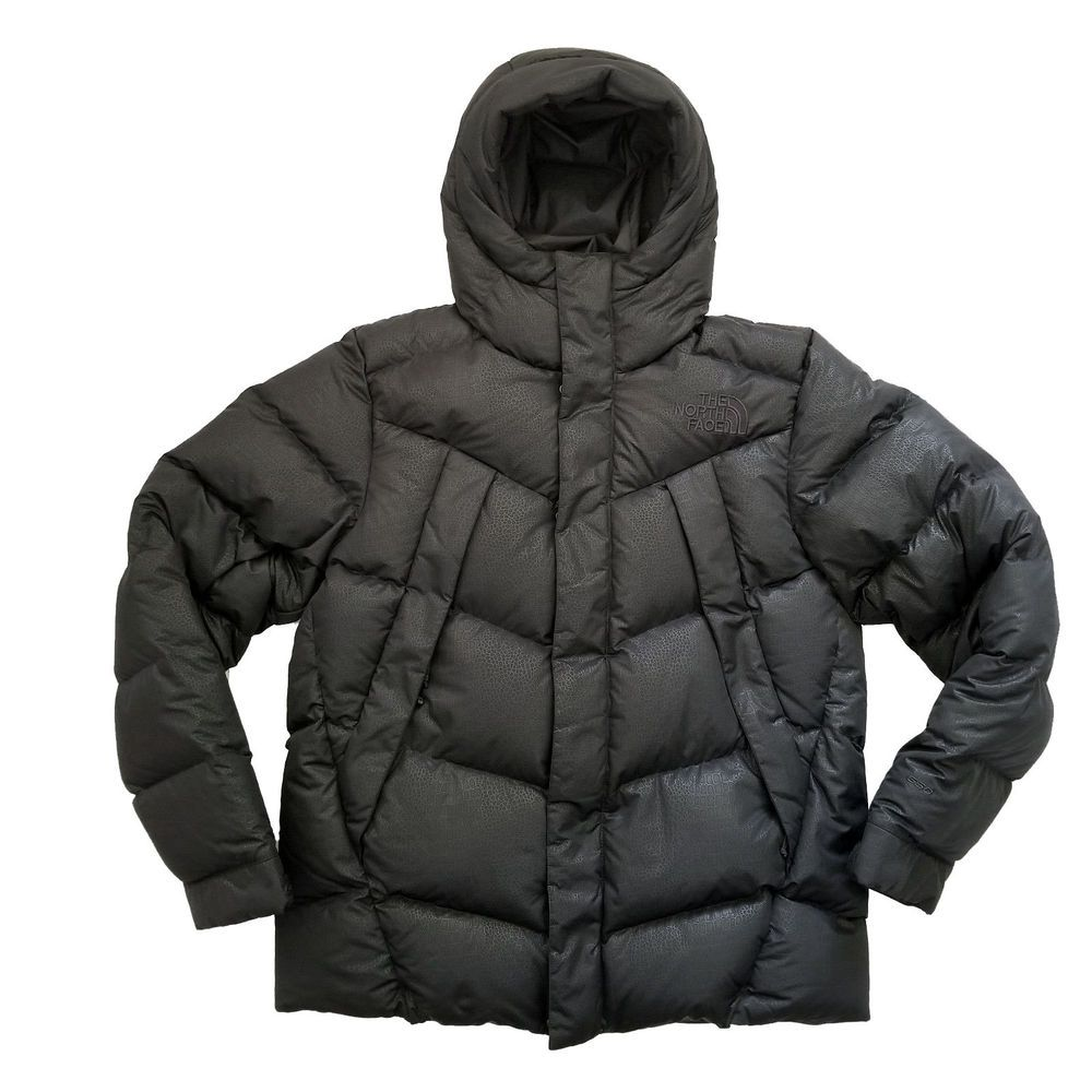 5031e86c3 The North Face Mens Eldo Down Jacket Black Croc Print Size Medium ...