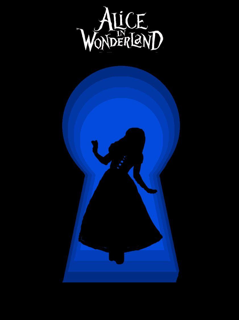 alice in wonderland keyhole clipart - HD841×1122