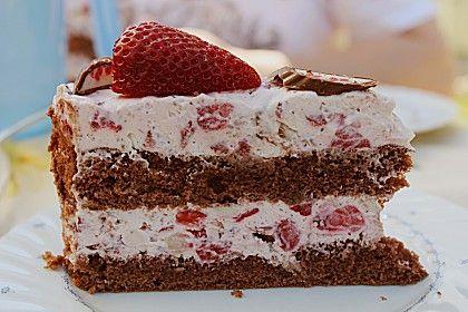 Yoguretten - Torte (Rezept mit Bild) von angelkrissi | Chefkoch.de #vanillayogurt
