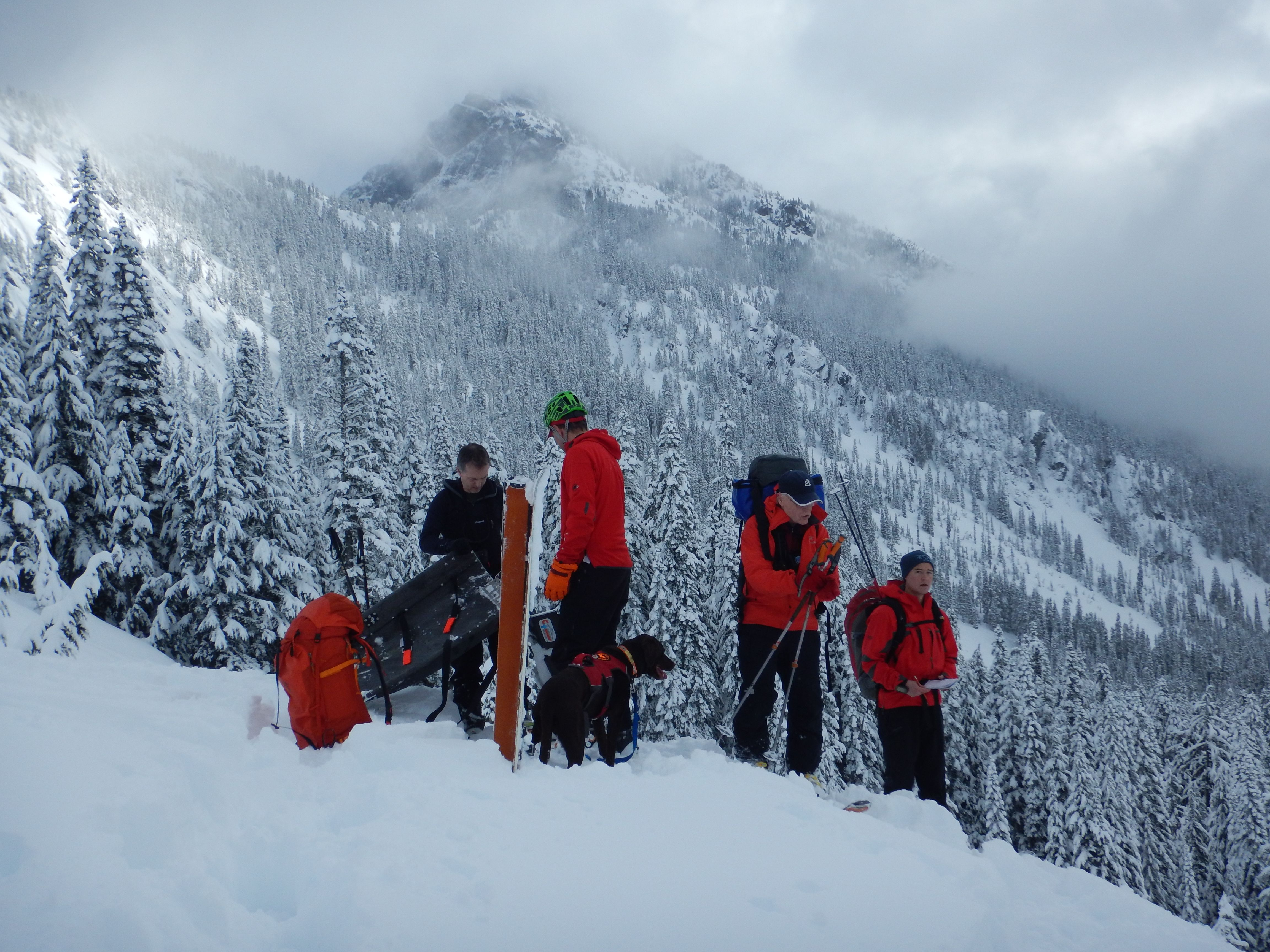 February Smr Avalanche Training Myself And 2 Friends Got To Play Mock Victims For A Joint Seattle Mountain Resc Search And Rescue Seattle Mountain Rescue Team
