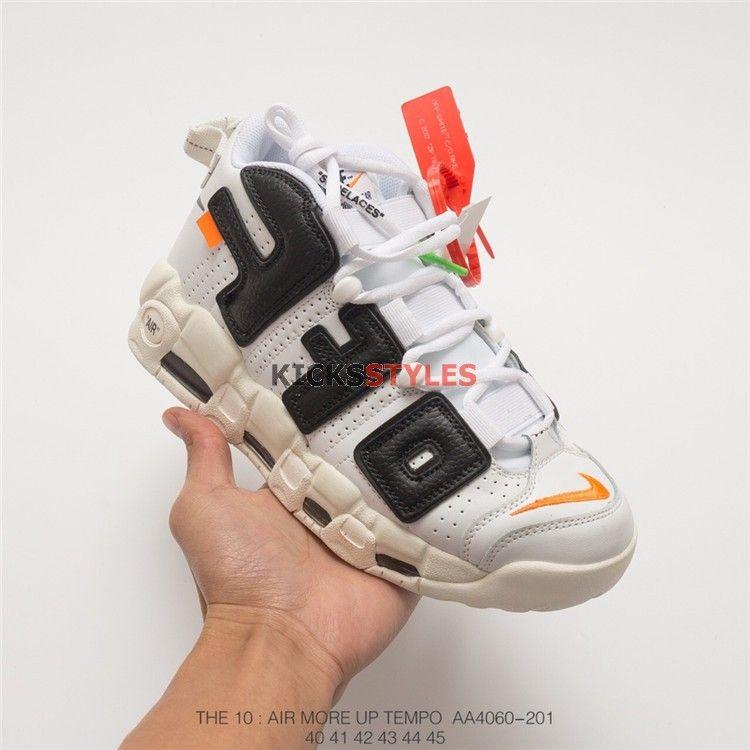 Off White x Nike Air More Uptempo Concept Custom