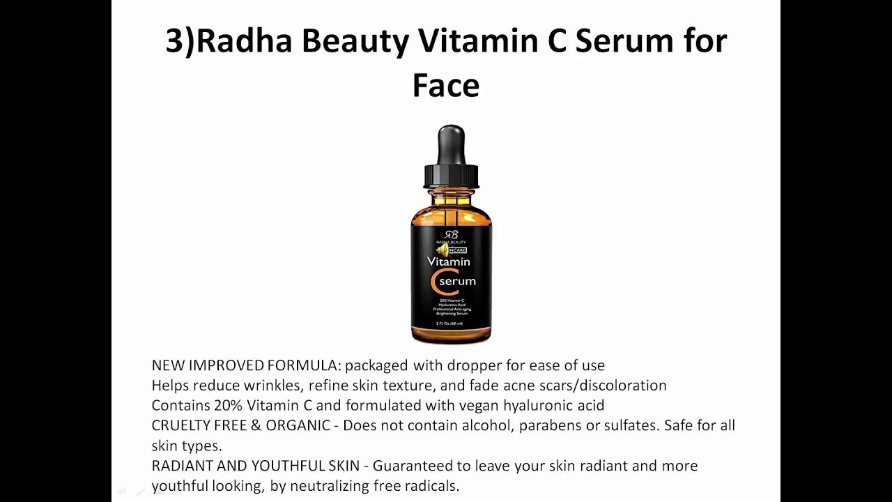Best Wrinkle Serum 2020 Top 5 Vitamin C Serum Review For 2019 and 2020 (The Best Ones