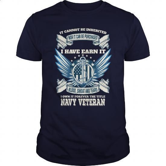 Navy Veteran Great Gift For Any Veteran - #shirts #white shirts. PURCHASE NOW => https://www.sunfrog.com/LifeStyle/Navy-Veteran-Great-Gift-For-Any-Veteran-Navy-Blue-Guys.html?id=60505
