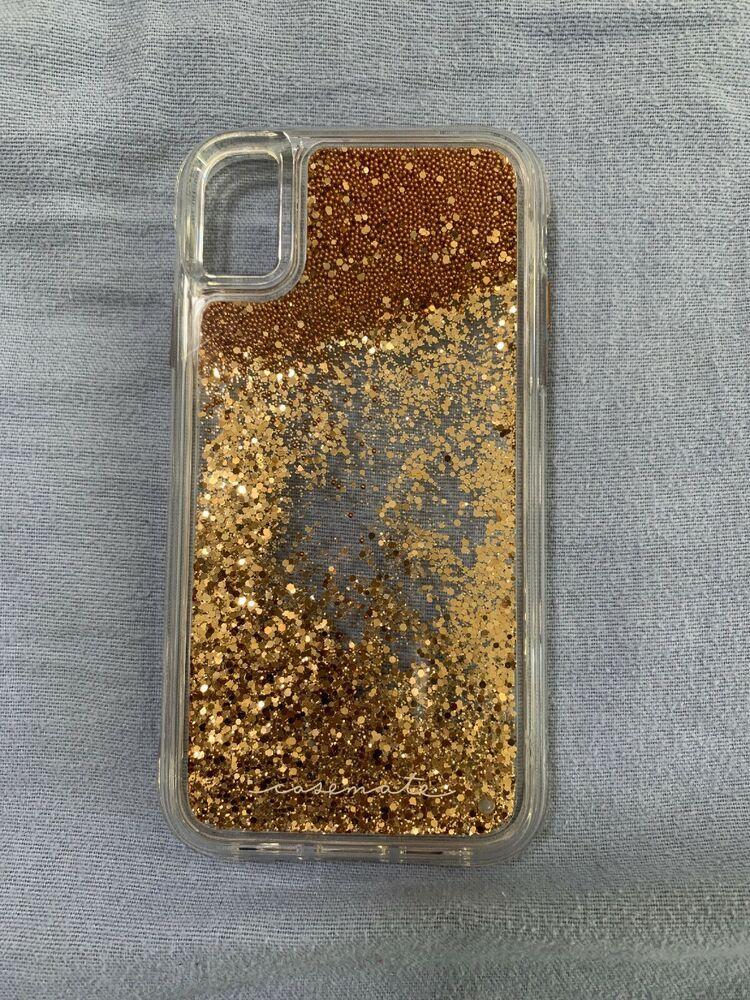 c610f5f3b73ff3 New Case-Mate Waterfall Rose Gold Glitter Case for Apple iPhone XR - Glitter  Case