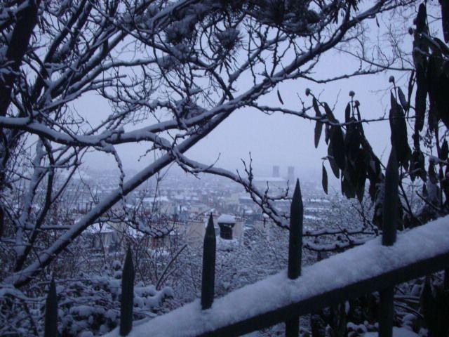 Aguarda la nieve en Paris