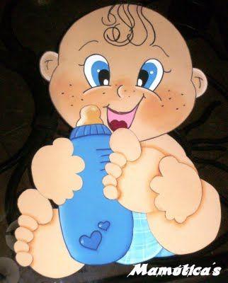Bebe con chupon bebes en foami pinterest baby dolls for Escarapelas en foami