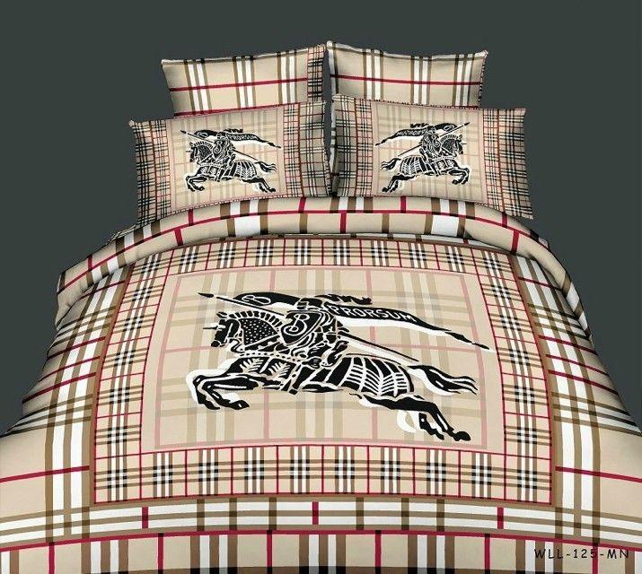 burberry bettw sche g nstig billig gut preiswert king size baumwolle bed set 6 teilig design. Black Bedroom Furniture Sets. Home Design Ideas