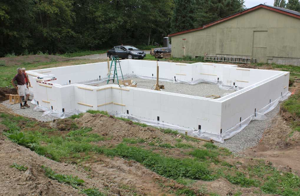 Forming Stem Wall Foundations With Fastfoot Monopour Building Construction Concrete Footings The Crawl
