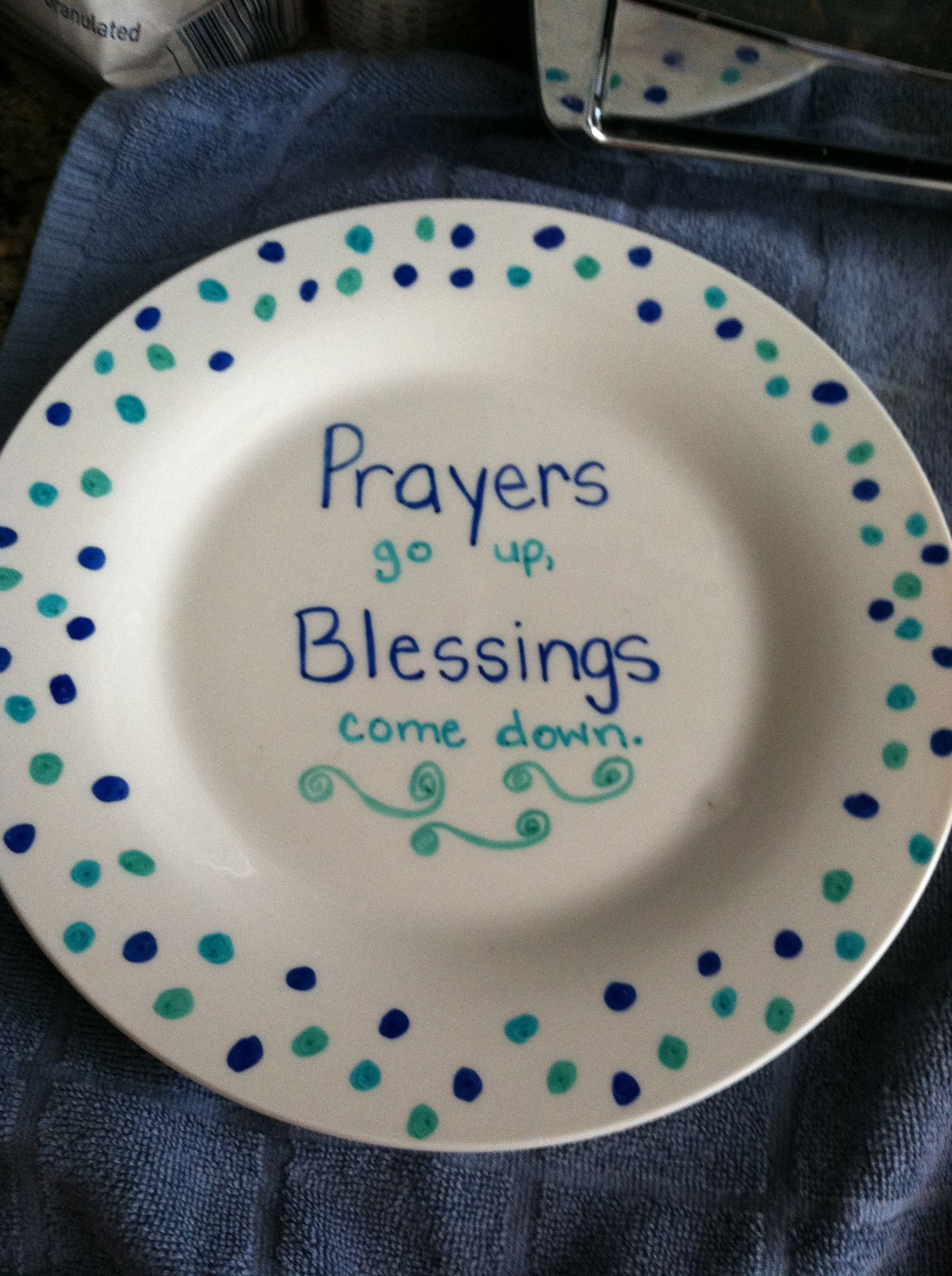 Dollar Tree plate decorated with sharpie & Dollar Tree plate decorated with sharpie | Dollar Tree Crafts ...