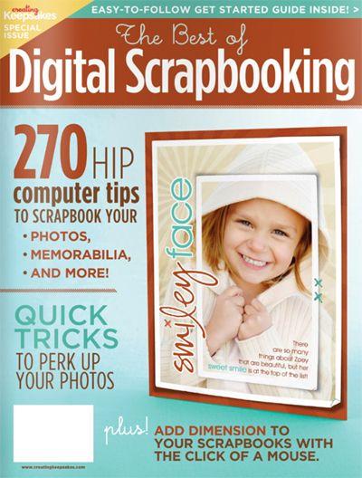 Creating Keepsakes - The Best of Digital Scrapbooking at Scrapbook.com $14.99