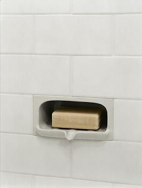Bath Graystone Accessory Collection From Subway Tile Soap Soap Holder Shower Niche