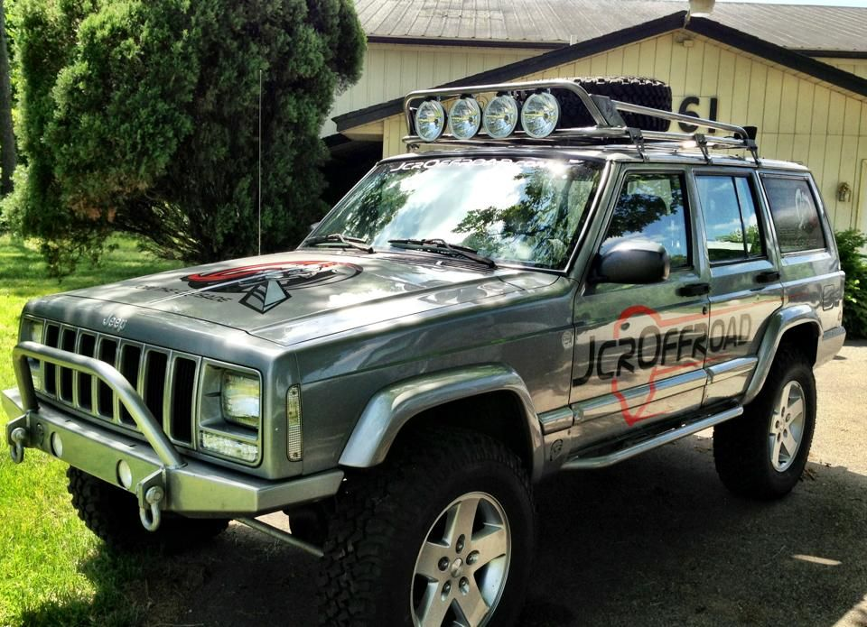 JcrOffroad Protyping Crusader Roof Rack! Revisted