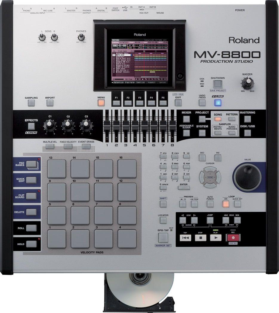 MV-8800: Production Studio | Roland U.S.