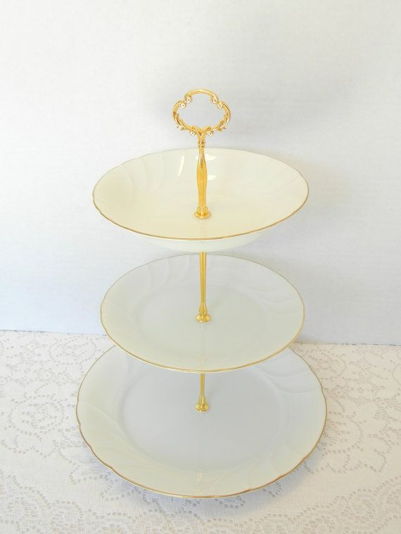 Mikasa Wedding Cake Stand Dessert Stand Appetizer Tray Cupcake