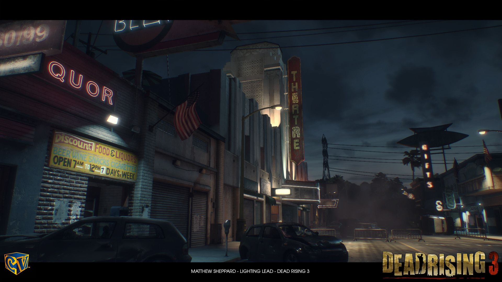 ArtStation Dead Rising 3 Theatre Time Cycle, Matthew